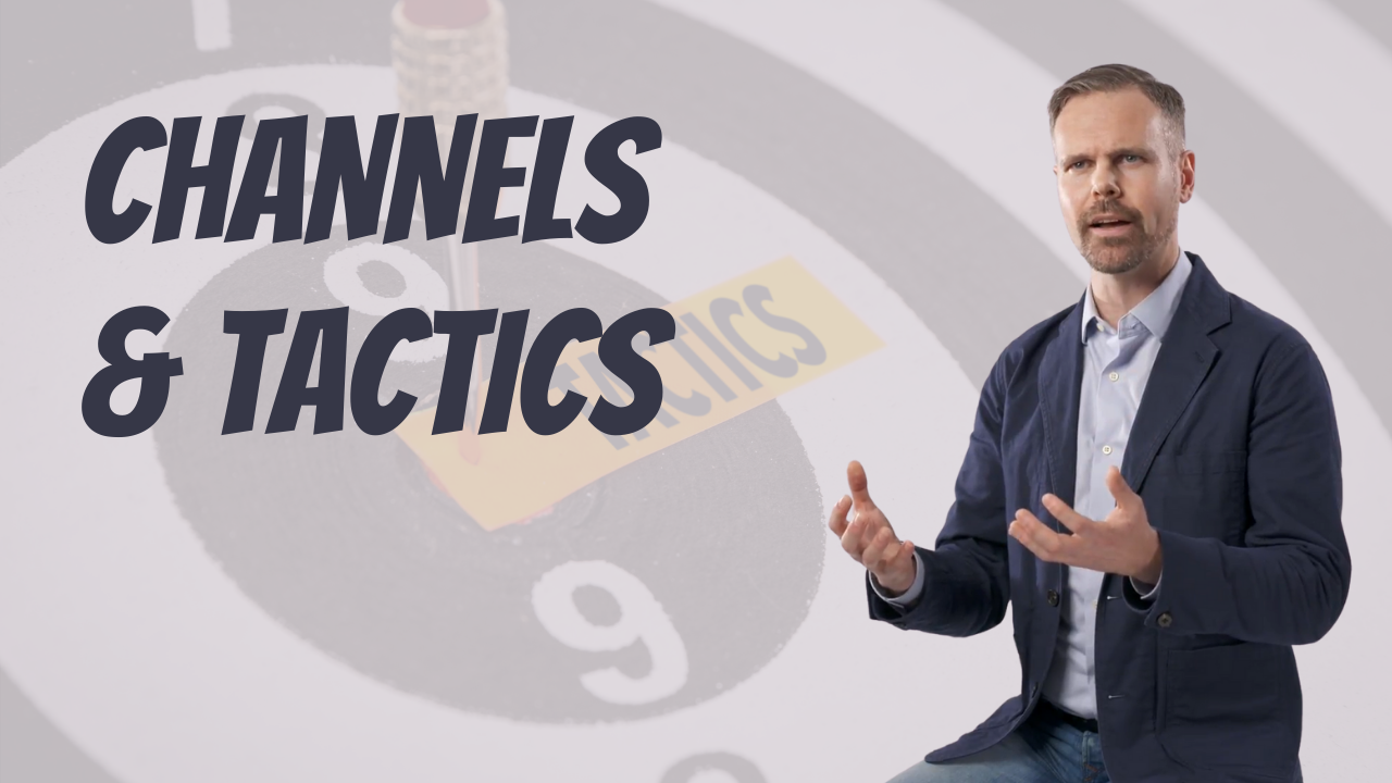 Success in your Marketing with the Channels and Tactics - Yuri Van Der Leest
