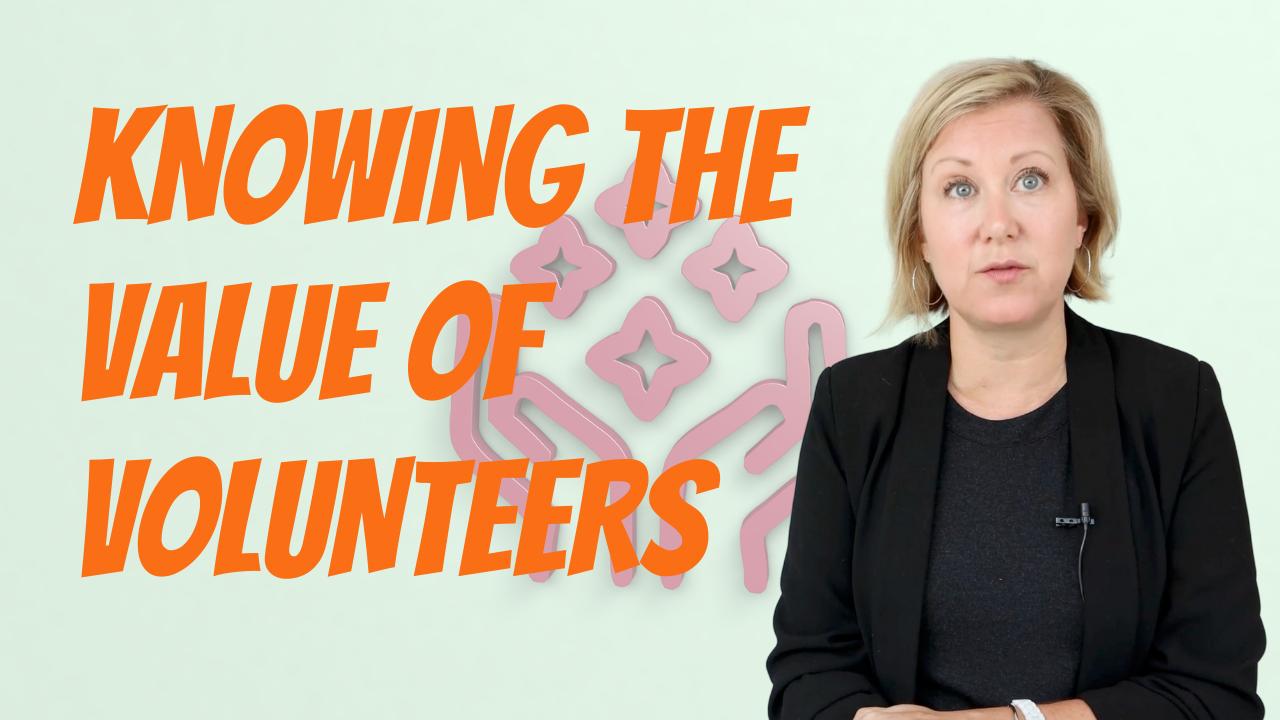The Value of Volunteers? - Sue Toomey